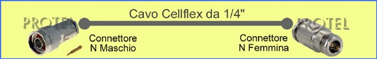 "cellflex 1/4"" Nm-Nf"